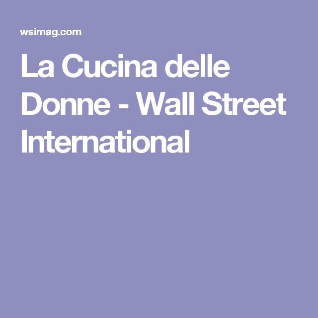La Cucina delle Donne - Wall Street International
