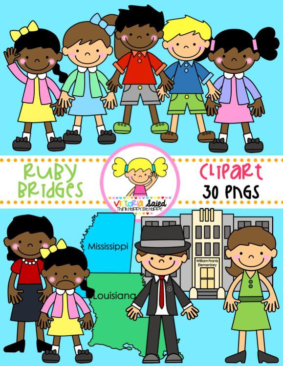 Ruby Bridges clipart for teachers
