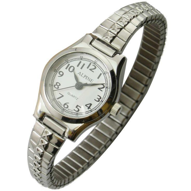 JAS Watch - Metal Expansion Band - Slender - Silver