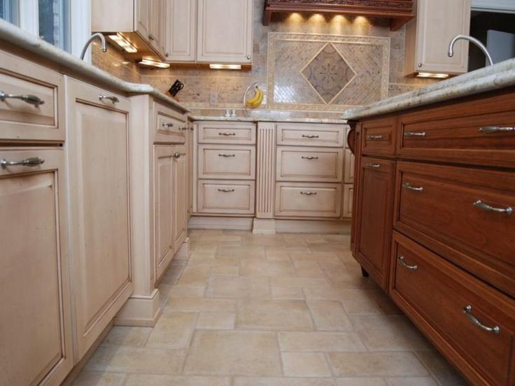 kitchen floor plans dimensions - Tile Floor Kitchen Ideas