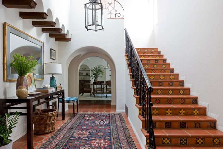 House Tour: A Stunning Spanish Colonial Revival in Beverly Hills Photos | Architectural Digest