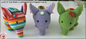 Elefanter lavet af Jam Made + opskrift