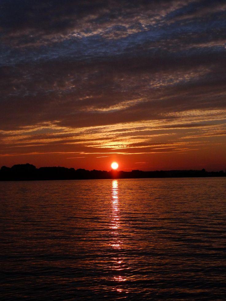 Naplemente Tata Öreg tó Hungary...