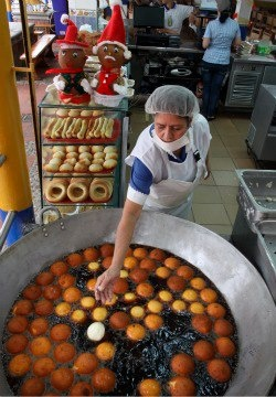 Buñuelos que rico!!!!! typical food