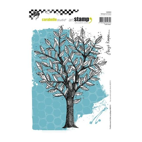 Carabelle Studio TALL TREE Cling Stamp sa50024 Preview Image