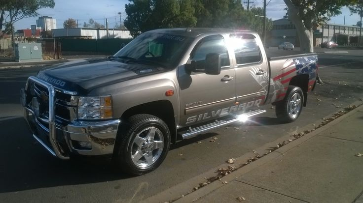 Chevrolet Silverado - this Silverado has been sold but I have included it to show the standard model 2500HD LTZ which is also available through WPA in Dubbo