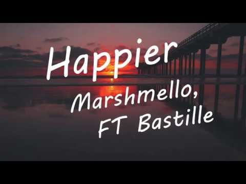 Marshmello ft  Bastille - Happier (Found this great new video for