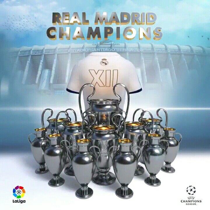 Duodécima Champions Real Madrid