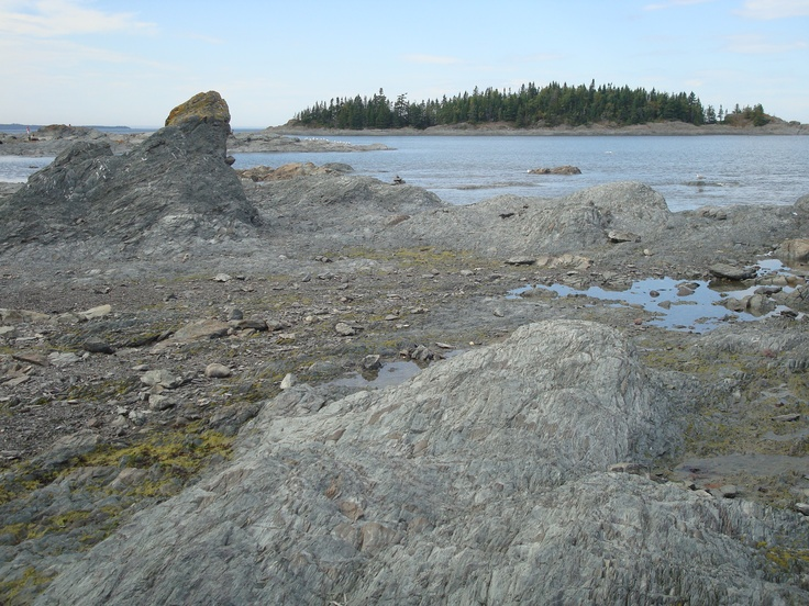 Bic National Park on the South Shore of the St. Lawrence River