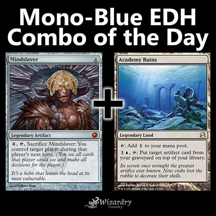 Our Edh Commander Combo Of The Day Do You Play This In Any Of Your Decks Edh Commander Combo Wiza Magic The Gathering Cards Magic The Gathering Mtg Decks