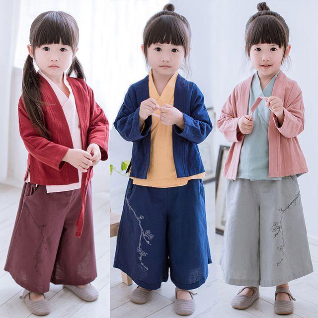 2017 lente traditionele oude chinese kostuum voor kostuum hanfu kind meisjes kleding kid meisjes cosplay jurken dance tang dyna