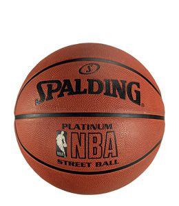 Balon Spalding Platinum NBA streetball de alta gama con excelente agarre y control y unas características de juego inmejorables. Talla 7 www.basketspirit.com/Balones