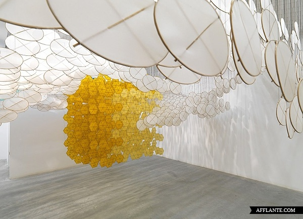 The Other Sun // Jacob Hashimoto | Afflante.com