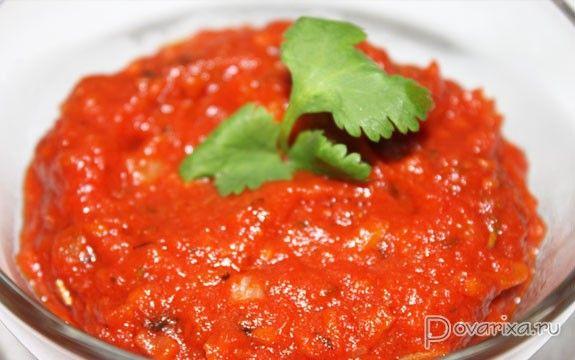 Красный соус для пиццы - рецепт