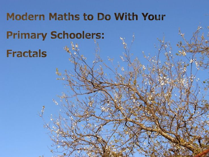 Gluten-Free Mum: Modern Maths to Do With Your Primary Schoolers: Fractals
