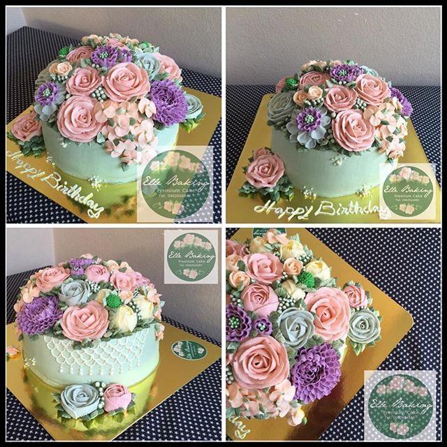 ElleBaking  ออเดอร์และสอนทำเค้ก เรียนทำเค้ก เค้กดอกไม้ Buttercreamflowercake FlowerCake สอนบีบบัตเตอร์ครีมดอกไม้สไตล์เกาหลี KoreaButterCreamFlower สนใจสอบถามรายละเอียด Line ID: ellebaking Instargram: ellebaking www.facebook.com/ellebaking www.ellebaking.com Tel: 0982624965