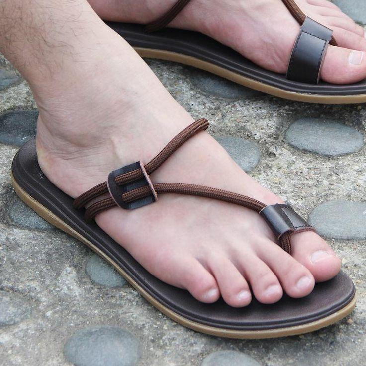 Aliexpress.com: Comprar Vietnam hombres de Zapatos dedo del pie sencilla zapatilla informal para hombre 2016 negro marrón 44 tamaño de playa para hombre se desliza sandalias Zapatos Zapatos de diseñadores de calzado para hombres fiable proveedores en Oriental phoenix