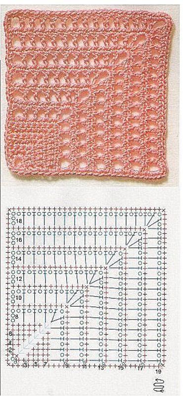 Pasion por el Ganchillo: GRANNYS Pop Tab crochet method Tutorial !!! ❥Teresa Restegui http://www.pinterest.com/teretegui/❥