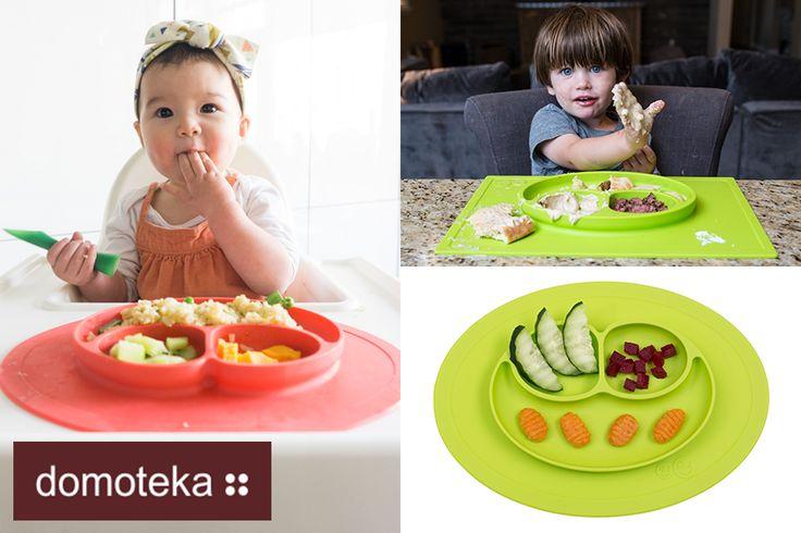 Z okazji Dnia Dziecka nowości w QFormie! Mniej bałaganu, więcej frajdy - to główne motto założycielki marki EZPZ. Jest to idealny produkt do nauki samodzielnego jedzenia. Dzięki przyssawkom doskonale trzyma się gładkiej powierzchni, jest więc pewność, że dziecko nie ściągnie talerzyka ze stołu. Wykonany z silikonu najwyższej jakości - pozbawiony BPA, PVC, ołowiu czy ftalanów. Jest także hipoalergiczny oraz antybakteryjny. Silikon EZPZ nie ulega korozji, nie rysuje się ani nie przebarwia.