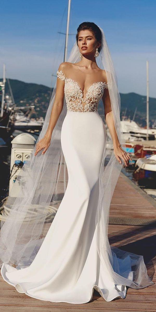 Satin Mermaid Wedding Dresses For Extraordinary Brides ★ See more: weddingdres…