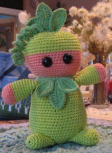 1500 Free Amigurumi Patterns: Emil's Pea Baby