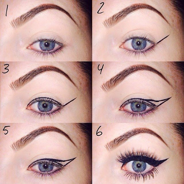 25+ best ideas about Dramatic winged eyeliner on Pinterest ...