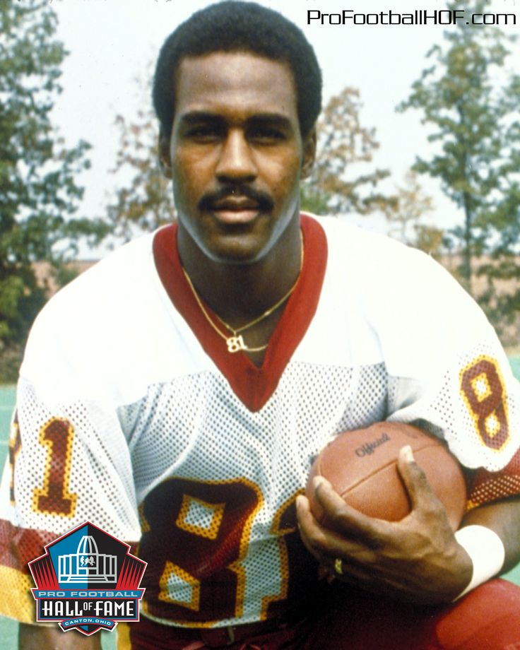 Art Monk, Pro Football Hall of Fame Class of 2008. Click on image for complete HOF bio. #Redskins