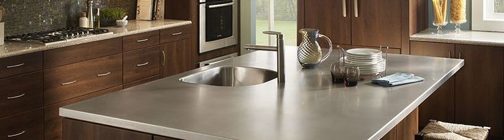 The marriage of elegance and utility - Stainless steel counters by http://www.FrigoDesign.com