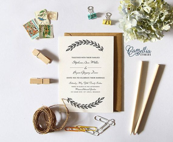 The  Best Engagement Invitation Template Ideas On