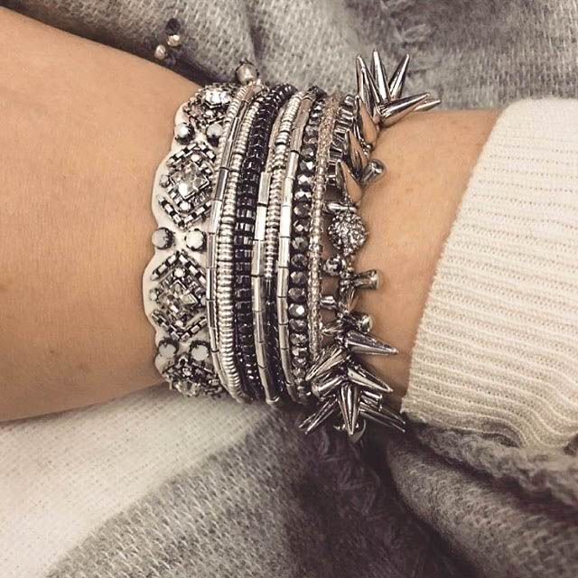 Another day, another chance to sparkle! Gift your favorite pals a stylish arm party this season! #stelladotstyle