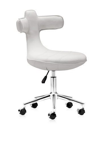 45% OFF Zuo Cozy Office Chair (White)