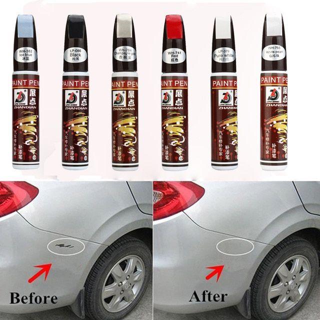 Colors Auto Car Coat Paint Pen Touch Up Scratch Clear Repair Remover