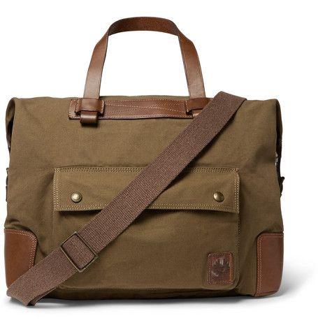 BELSTAFF . #belstaff #bags #leather #denim #travel bags #weekend #canvas #