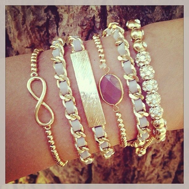 How to Stack and Wear Arm Party Bracelets   Glam Bistro
