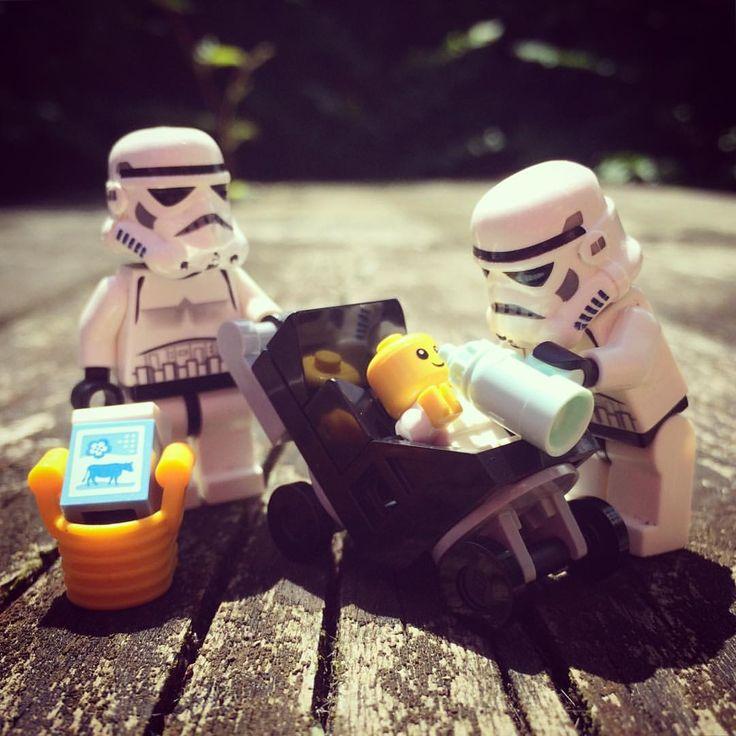 Happy Father's Day! #fathersday #daddy #dad #newborn #milk #stroller #buggy #pram #bag #responsibility #daddytime #starwars #starwarslego #starwarslegos #lego #legostarwars #stormtrooperlife #stormtrooper #bob #iphonography #365project #day177