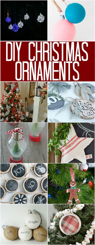 DIY Christmas Ornaments 100 Days of Homemade