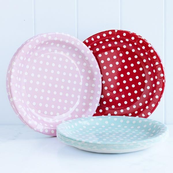 donna hay polka dot paper plates