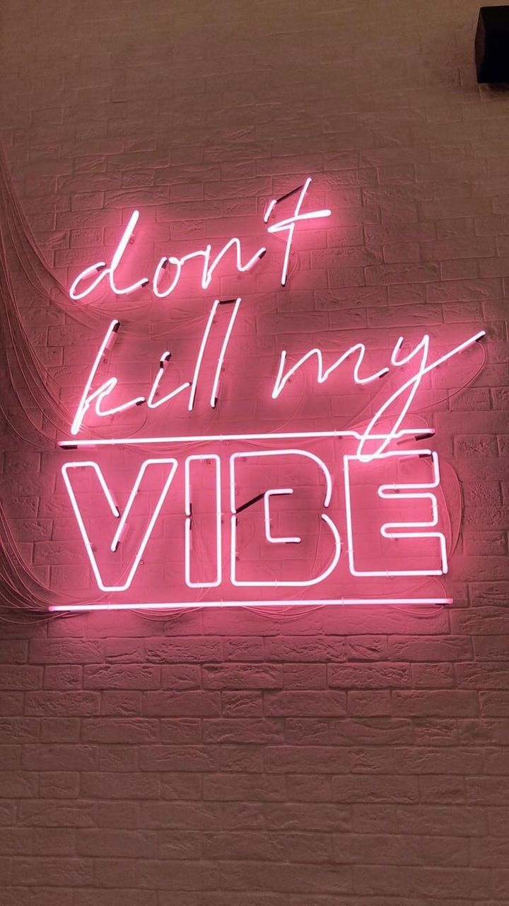 pinterest sophshadwick Pink neon wallpaper, Neon quotes