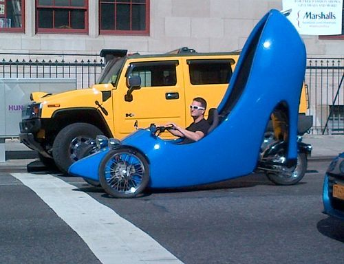 spotted the Marshalls shoe car on Lexington Avenue