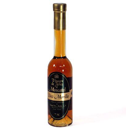 Vinegar : Moscatel Sweet Sherry Vinegar/ Vinagre de Jerez al Moscatel D.O.