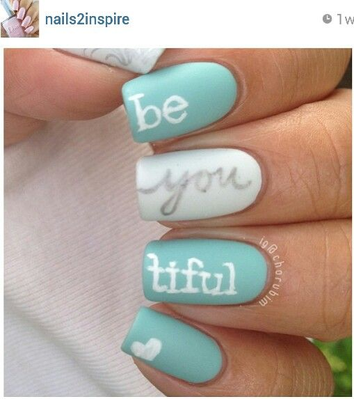 Best 25 tiffany blue nails ideas on pinterest tiffany nails 7 different nail shapes how to shape your nails perfectly prinsesfo Gallery