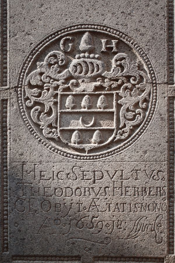 The Details of Tombstone at St.Paul Church,  Malacca 2014 on Behance