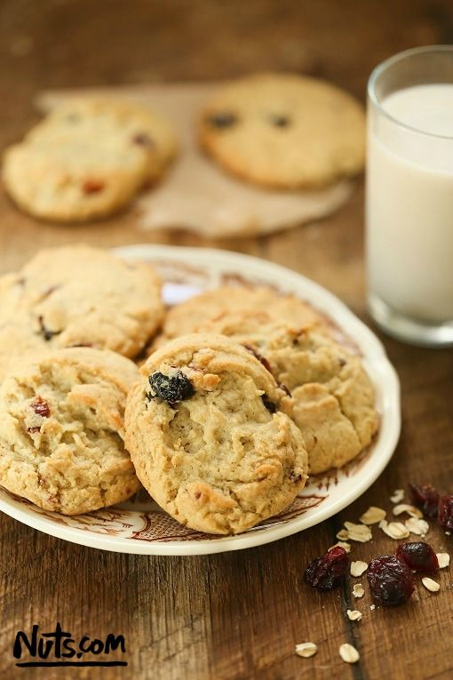 Cranberry Almond Flour Cookies {Gluten-Free} - Whip up a batch of these cookies for a guilt-free treat!