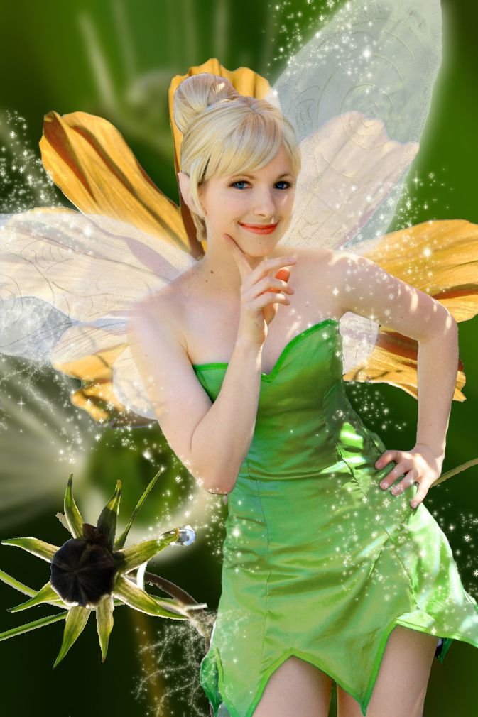 Tinkerbell from Peter Pan.