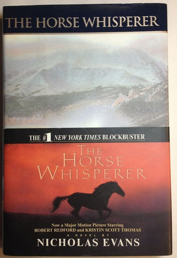 The Horse Whisperer by Nicholas Evans (1995, Hardcover with Dust Jacket)