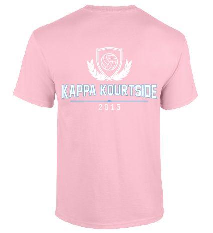 Backside of the Kappa Kourtside tournament shirts! Great work ladies!