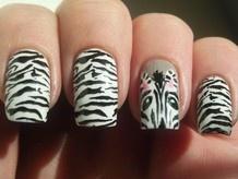 30 Fierce Animal Print Nail Designs photo - Buzznet