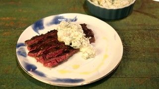 Michael's Grilled Skirt Steak with Chickpea Salad