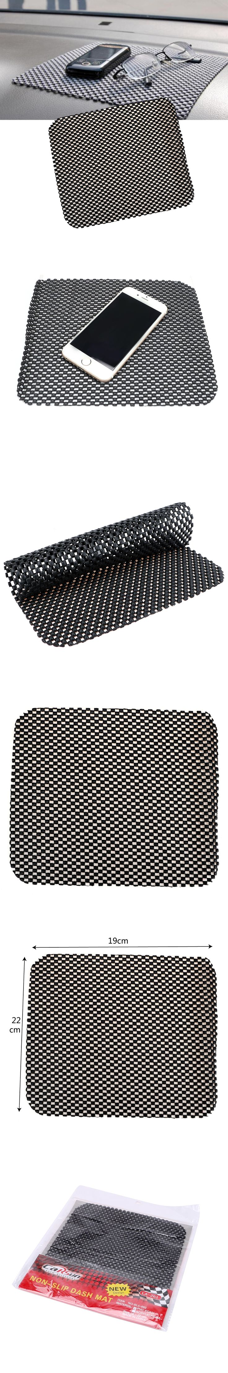 Anti Slip Mat For MP3 MP4 PDA 19cm*21cm Car Dashboard Holder For Mobile Phone Auto Accessories Black PVC Non Slip Sticky Pad