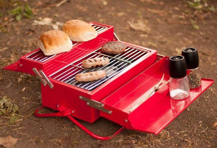 Barbacoa Portátil BBQ Toolbox | Gastronomía & Cía